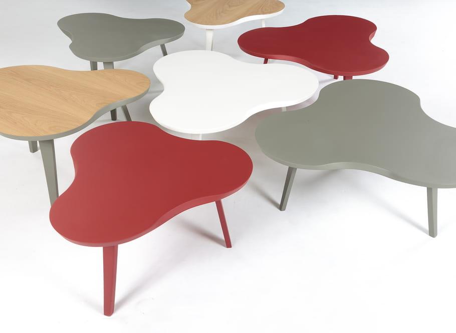 une table basse po tique pour le salon une table basse originale qui change journal des femmes. Black Bedroom Furniture Sets. Home Design Ideas