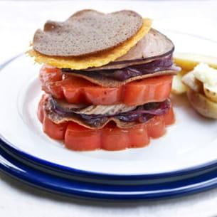 burger à l'andouille de guémené