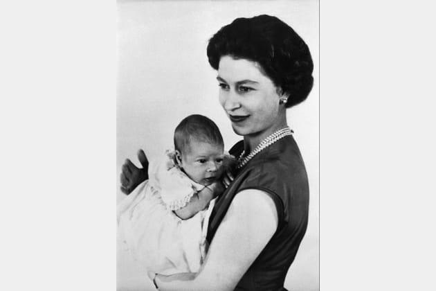 Elizabeth II et Andrew
