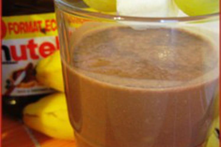 Smoothie banane-Nutella