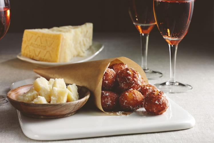 Choux au Grana Padano et à la noix de muscade