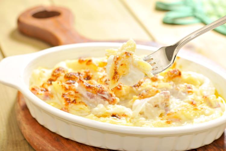 Gratin de pommes de terre à la faisselle
