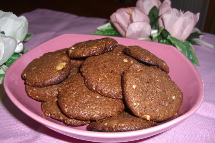 Cookies chocolat, noisettes
