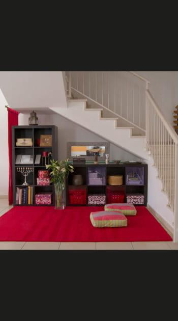 Solution n° 14 : récupérer l'espace sous escalier