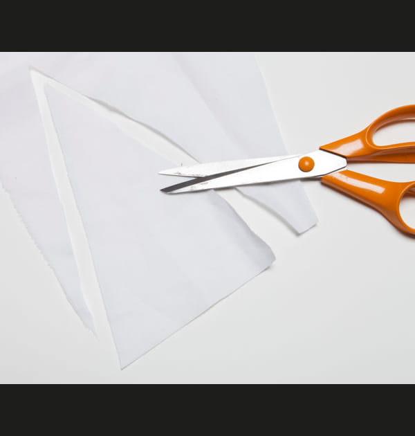 Etape 2: découper les fanions