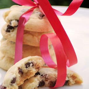 cookies aux deux chocolats et cranberries