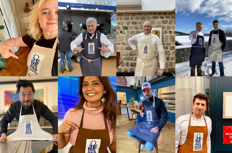 """""""Je ne rends pas mon tablier"""": initiative solidaire pour aider les restaurateurs"""
