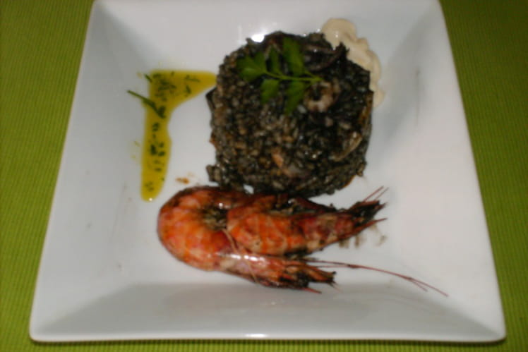 Arroz negro (riz noir)