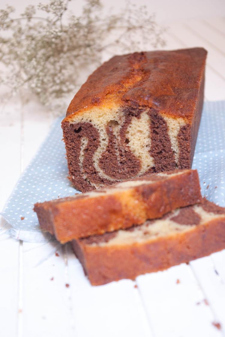 Recette De Cake Marbre Aux Deux Chocolats Ultra Moelleux La