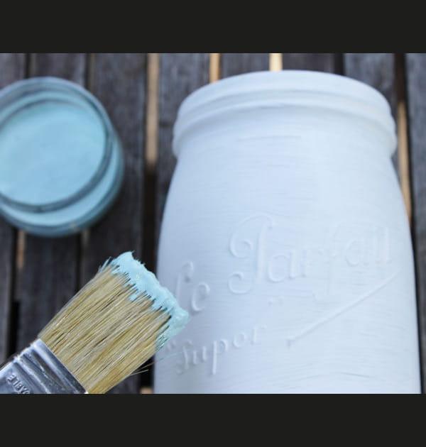 Etape 2: appliquer la peinture