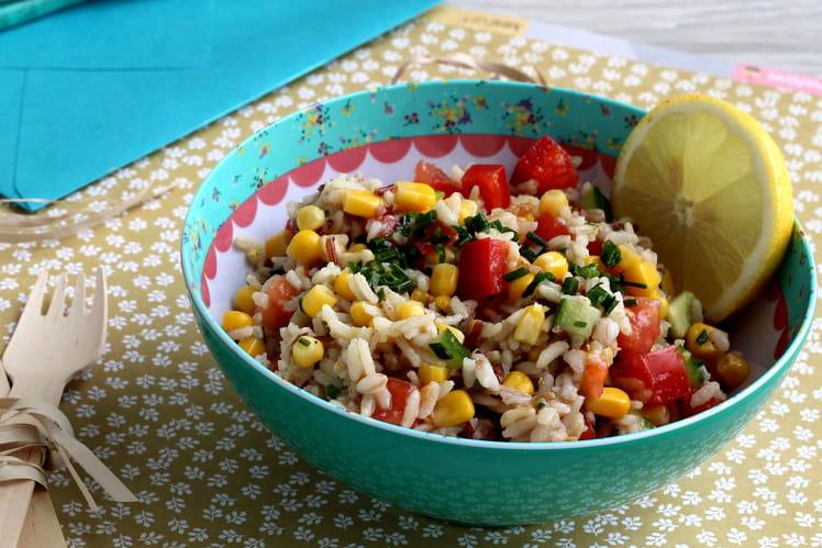 Salade de Riz - Céréales Anciennes et Maïs
