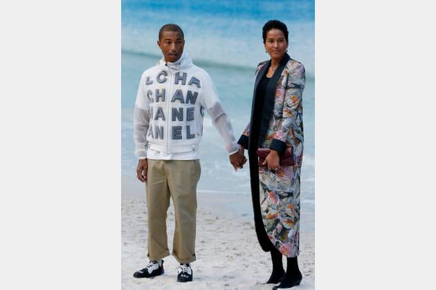 Pharrell Williams au défilé Chanel