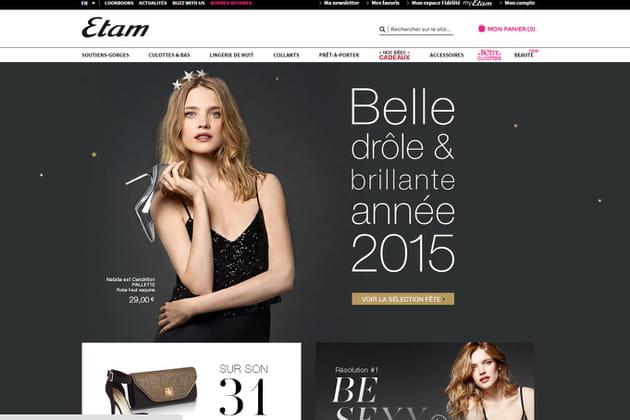 Le e-shop de Etam