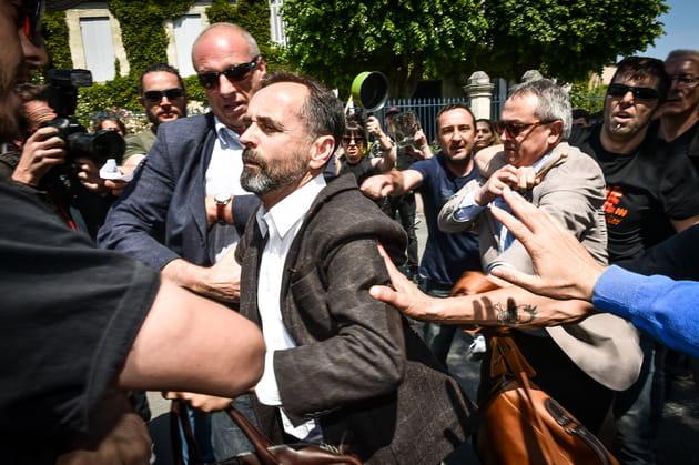 Robert Ménard, violemment accueilli en Gironde... (4jours d'ITT)