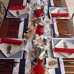 table bord de mer 100 100