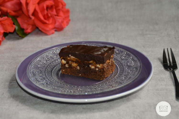 Gâteau au chocolat trois sensations