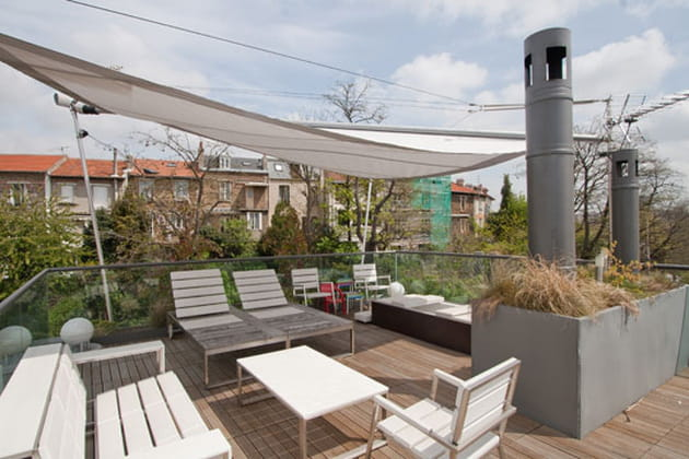 Une terrasse en ville