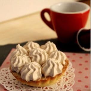 tarte infiniment café