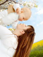les jeunes mamans de 40 ans sont souvent plus sereines.
