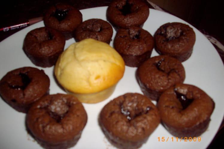 Muffins façon bouchons au chocolat