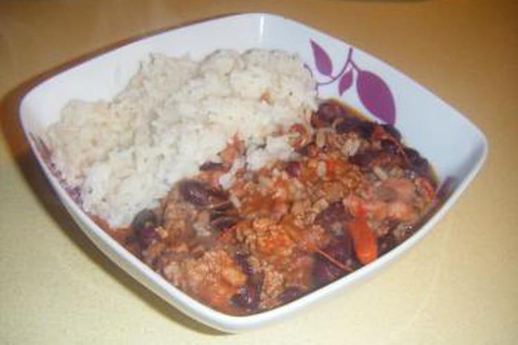 Chili con carne généreux