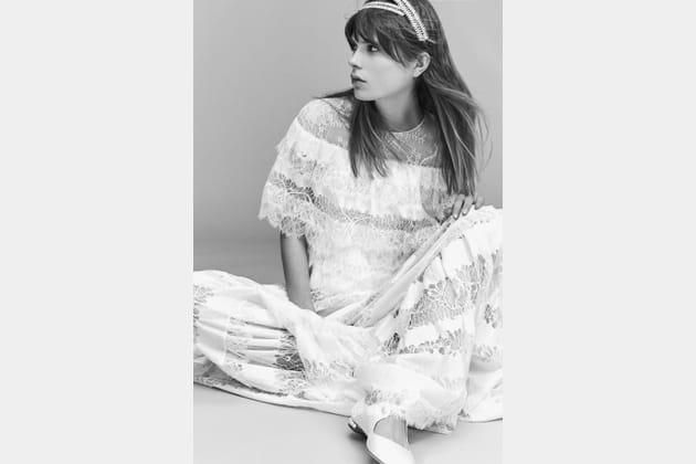 Une robe de mariée bohème
