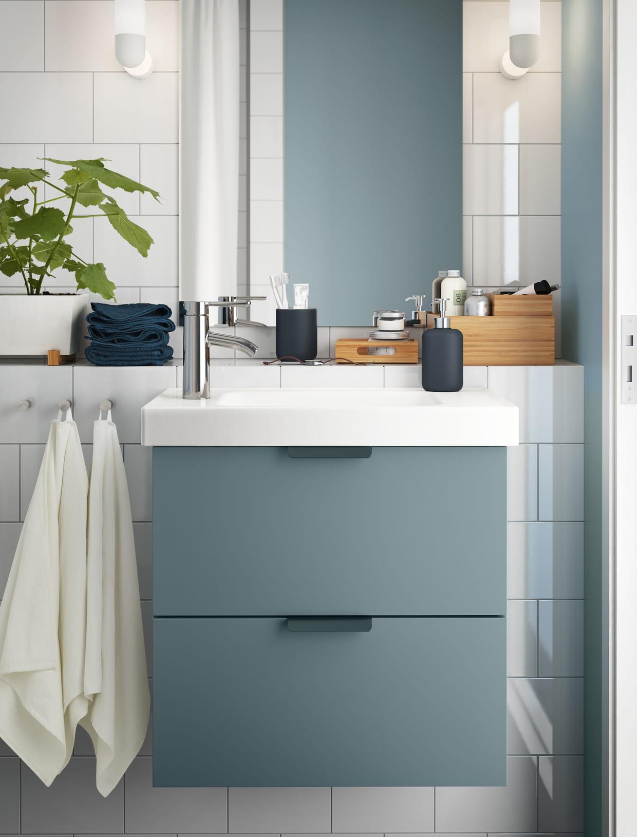 meuble 2 tiroirs godmorgon hagaviken par ikea. Black Bedroom Furniture Sets. Home Design Ideas