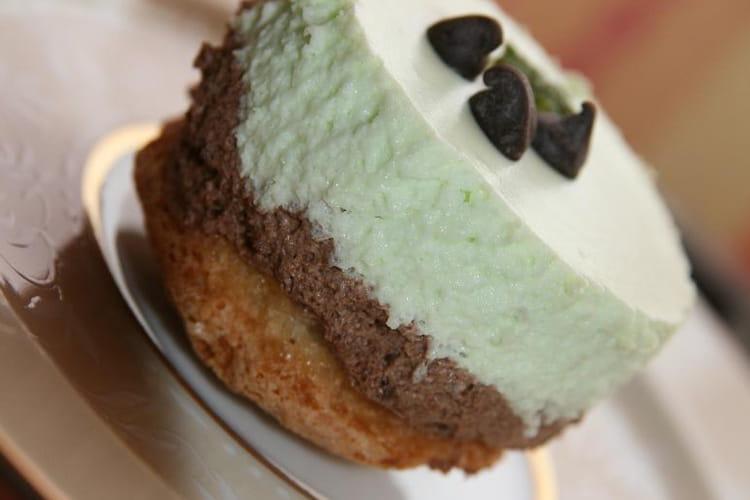 Gâteau menthe-chocolat