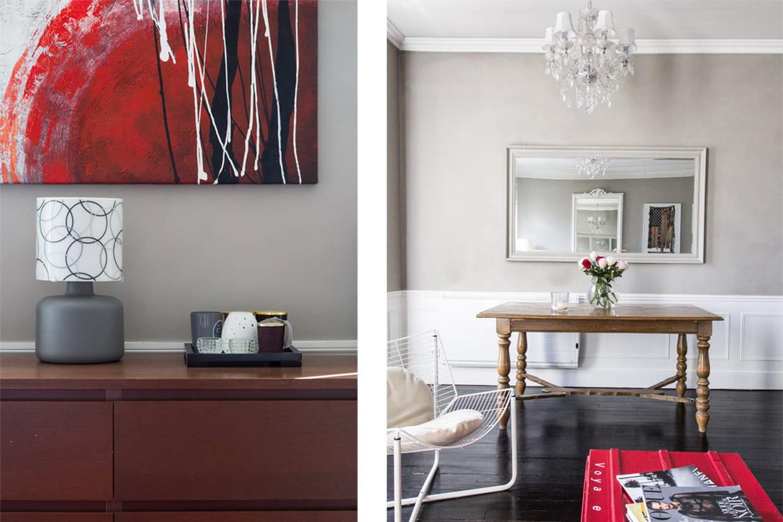 Des touches de couleur aussi - Charmant appartement lumineux touches couleurs ...