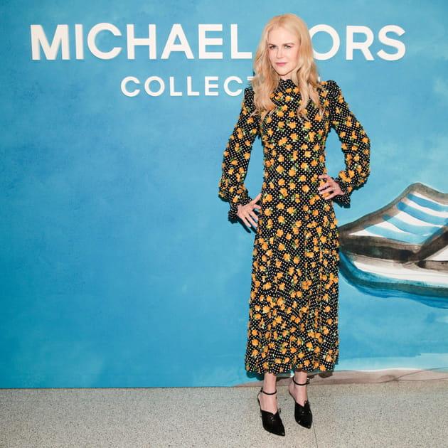 Nicole Kidman au défilé Michael Kors