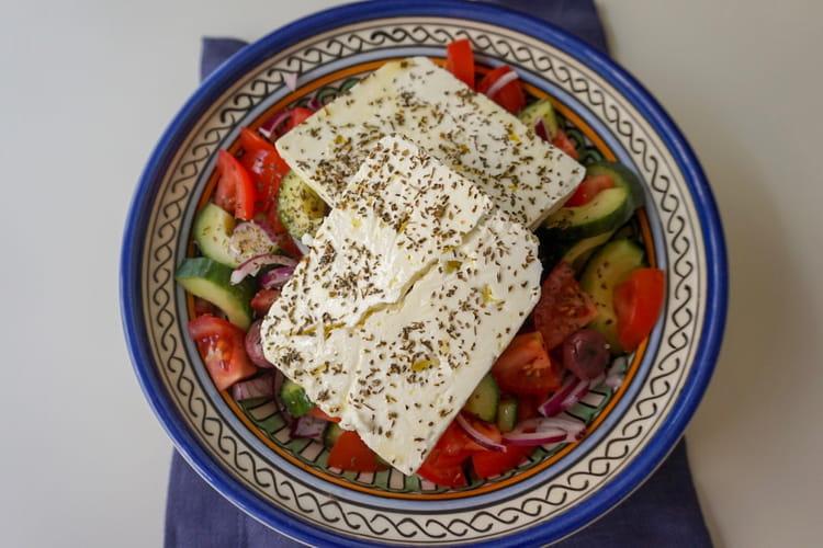 Salade grecque comme là-bas