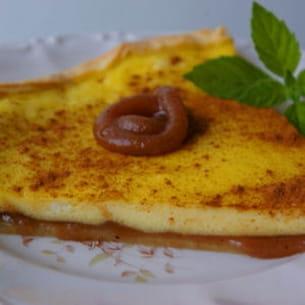 tarte à la ricotta et à la crème de marron