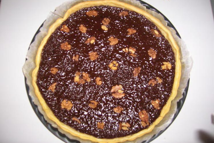 Tarte chocolat Michoko noix
