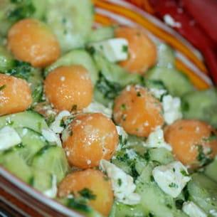 salade fraîcheur estivale