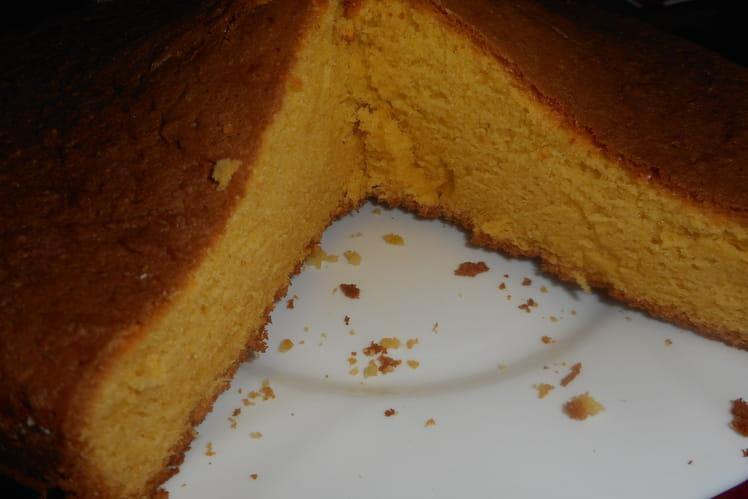Gâteau économique à la vanille