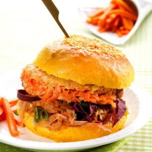 burger tout carotte