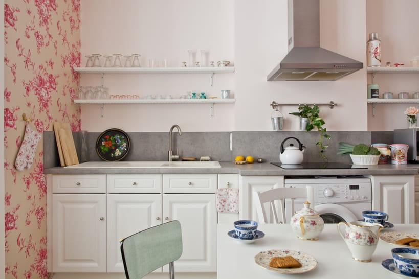 Cuisine blanche : 45 photos pour une pièce ultra lumineuse