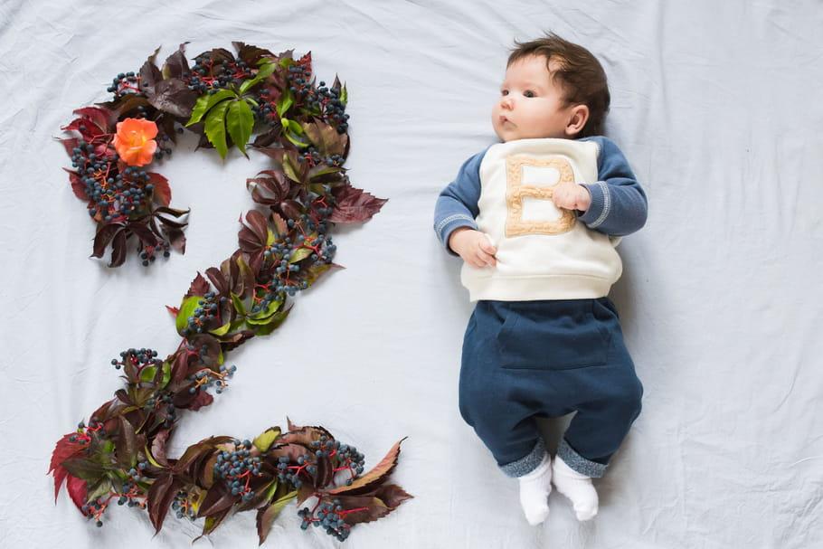 Le bébé de 2 mois