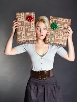 9 femmes sur 10 s'occupent de tous les cadeaux de noël de la famille.