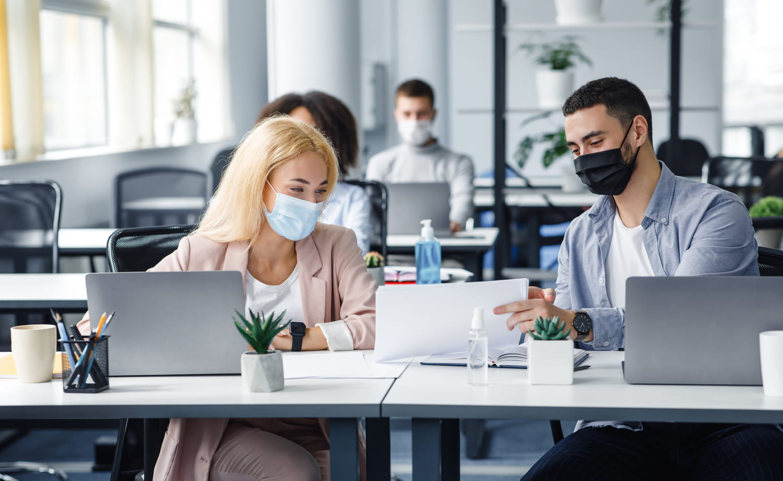 Protocole sanitaire en entreprise: télétravail, masque, restauration...