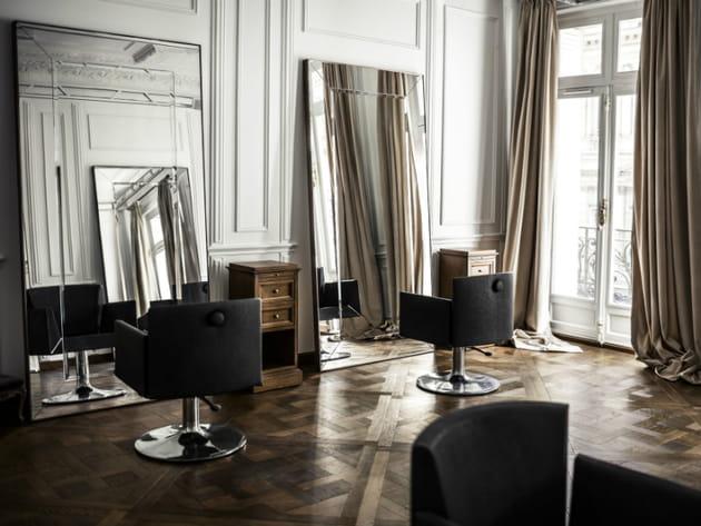 Un espace coiffure comme si on était à Versailles