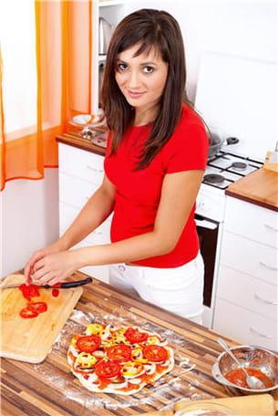 bien choisie, la pizza peut être diététique.