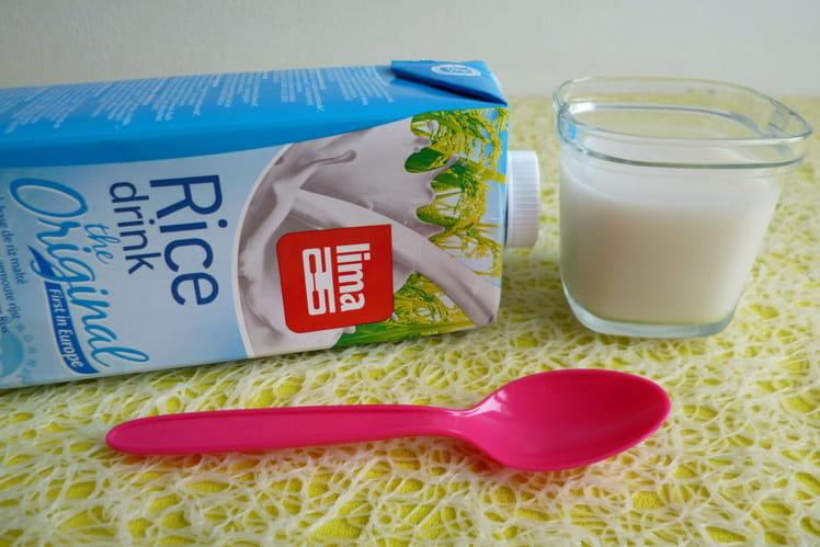 Yaourts végétaux maison au riz et sirop de riz