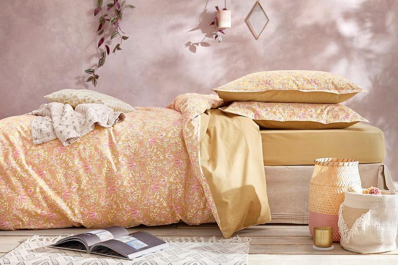 Des Rideaux Pr Chambre : Du linge de lit coloré pour un printemps plein gaieté