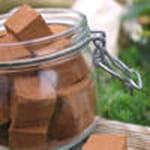 guimauves menthe chocolat