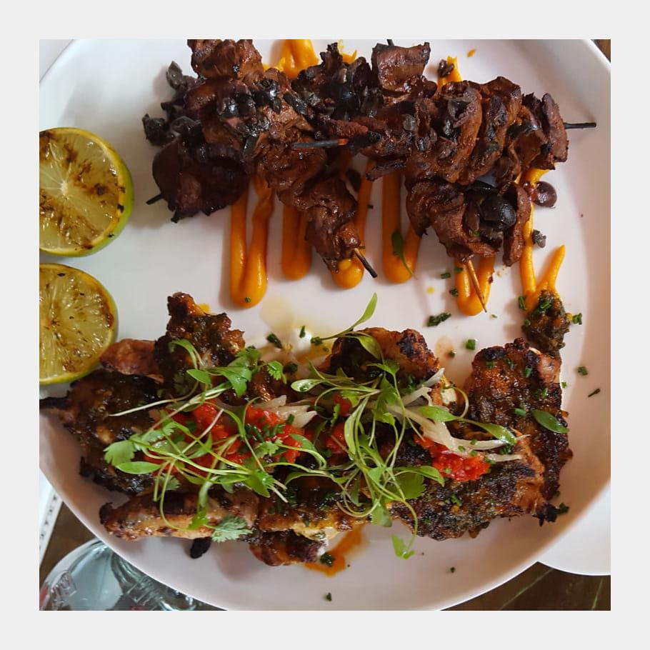 Barbecue péruvien chez Señor Ceviche