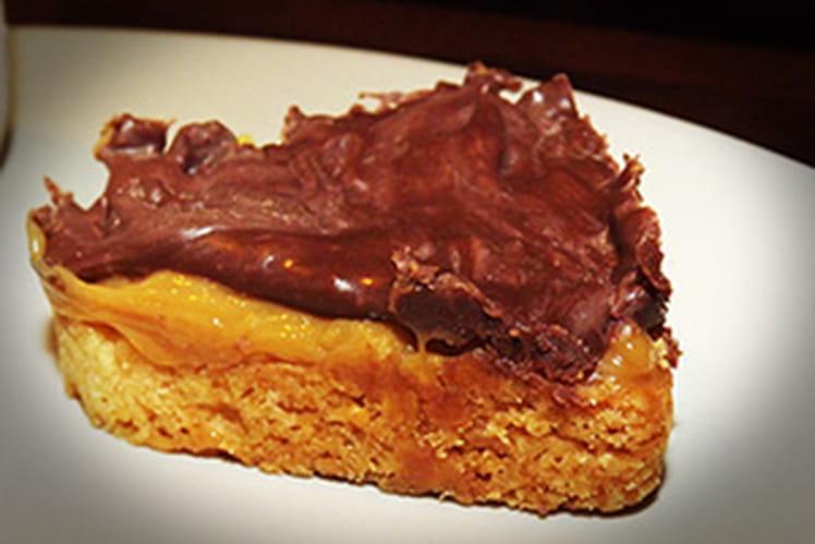 Sablés chocolat-caramel