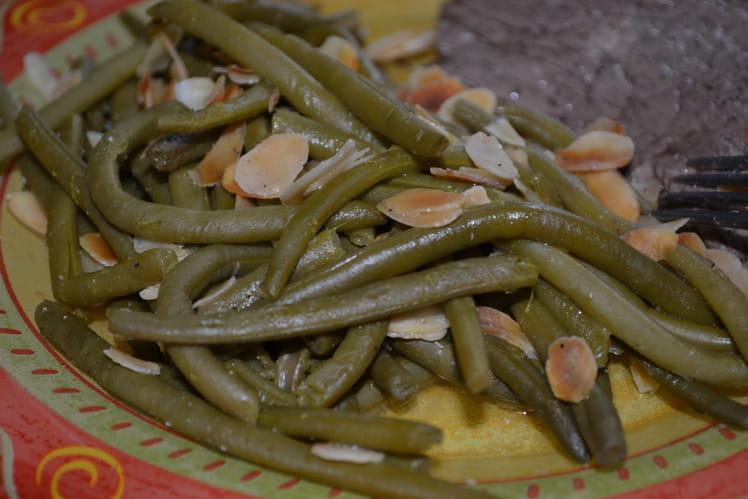 Les haricots verts aux amandes effilées et au citrond de Breaking Bad