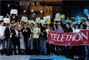 en 2007, le téléthon a finalement permis de récolter plus de 102 millions