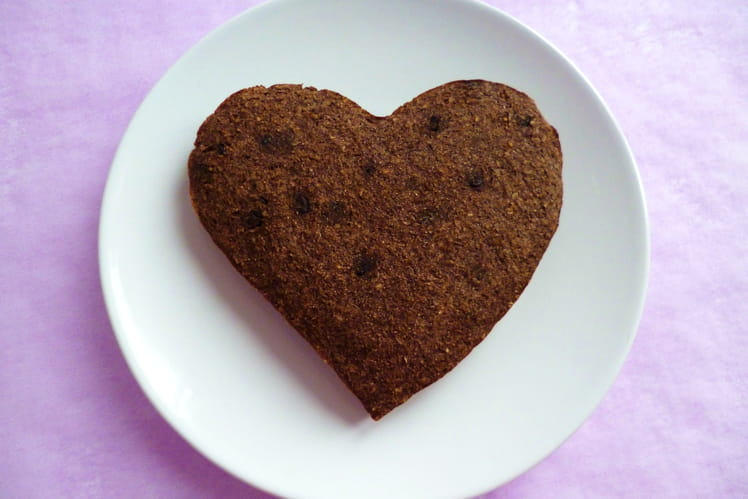 Gâteau chocolat coco au son d'avoine et au psyllium
